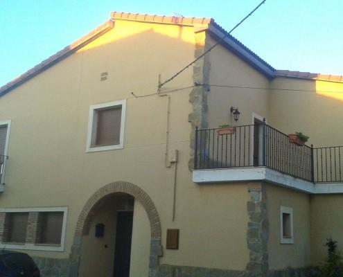 Fachada unifamiliar Construcciones Morillo Barbastro