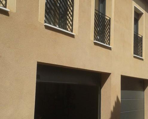 Garaje vista fachada | Construcciones Morillo