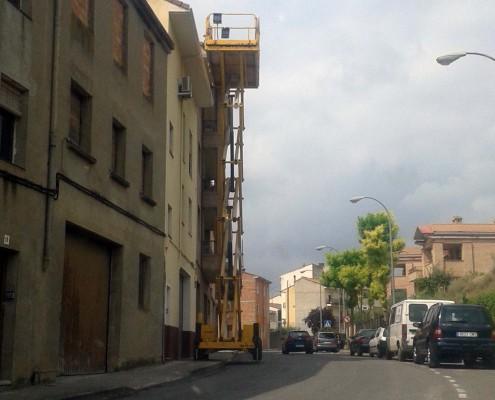 Grúa | Construcciones Morillo