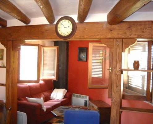 Rehabilitación interior madera