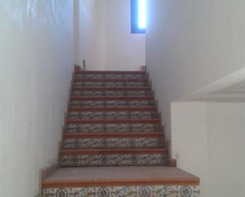 Rehabilitación de escaleras | Construcciones Morillo