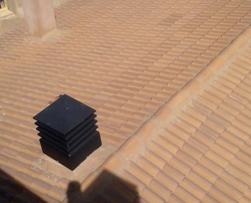 Tejado vista superior | Construcciones Morillo
